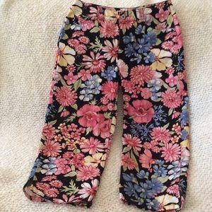 Casual crop pants